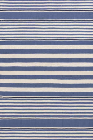 Dash And Albert Beckham Stripe Denim Area Rug