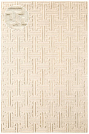 Dash And Albert Beekman Knotted Ivory Area Rug