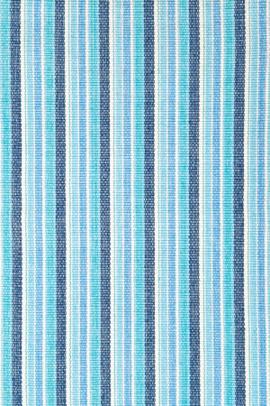Dash and Albert Bluemarine 56169 Ticking Area Rug