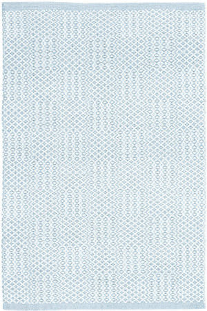 Dash And Albert Bonnie Woven Blue Area Rug