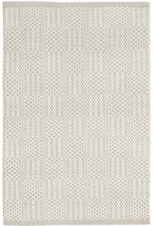 Dash And Albert Bonnie Woven Grey Area Rug