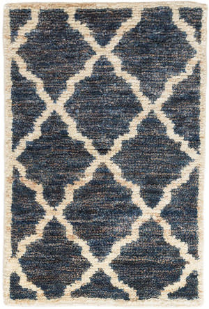 Dash And Albert Casablanca Knotted Indigo Area Rug