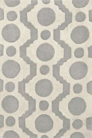 Dash and Albert Circle 56184 Fret Area Rug