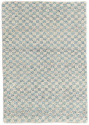 Dash And Albert Citra Knotted Robin's Egg Area Rug