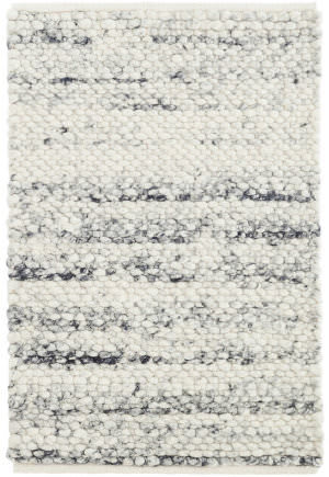 Dash And Albert Cobblestone Woven Grey Rug Studio