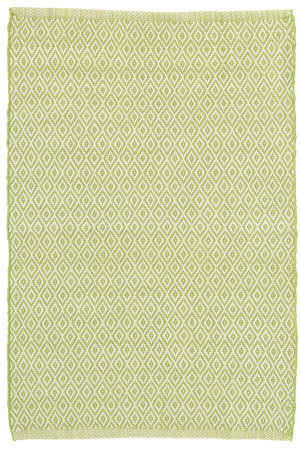 Dash And Albert Crystal Indoor-Outdoor Sprout - Ivory Area Rug