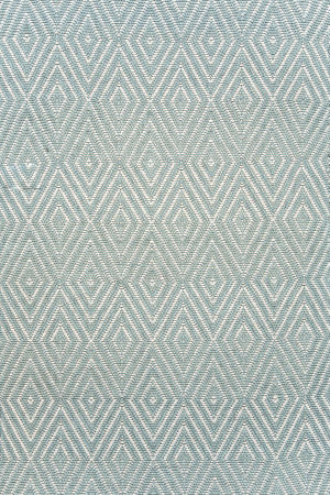 Dash and Albert Diamond 56194 Light Blue/Ivory Area Rug