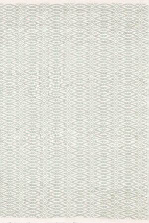Dash And Albert Fair Isle 105501 Ocean/Ivory Area Rug