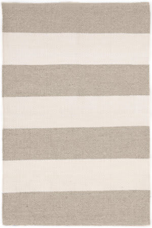 Dash And Albert Falls Village Stripe Cement Area Rug