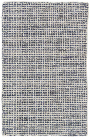 Dash And Albert Homer Knotted Blue Area Rug