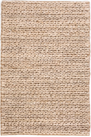 Dash And Albert Jute Woven Bleached Oak Area Rug