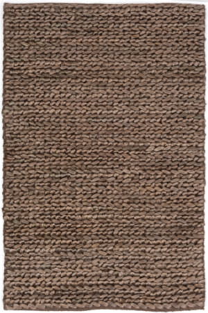 Dash And Albert Jute Woven Cocoa Area Rug