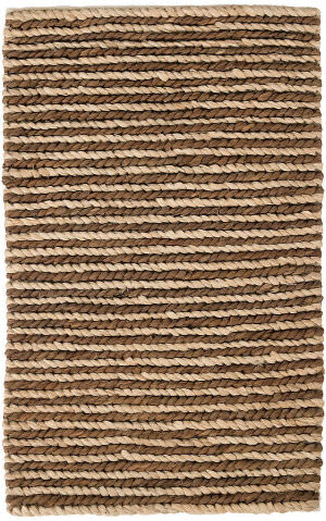 Dash And Albert Jute Woven Natural - Charcoal Area Rug