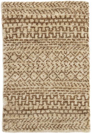 Dash And Albert Kel Hand Knotted Brown Area Rug