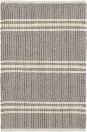 Dash And Albert Lexington Rdb362 Grey - Ivory Area Rug