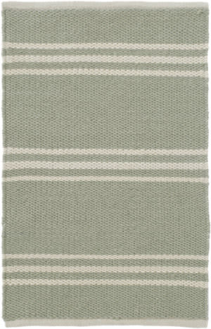 Dash And Albert Lexington Rdb363 Ocean - Ivory Area Rug