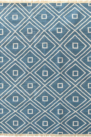 Dash And Albert Mali 105527 Indigo Area Rug