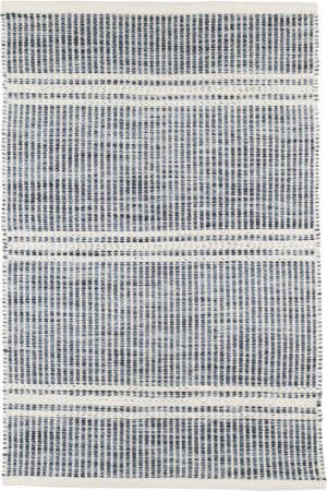 Dash And Albert Malta Woven Blue Area Rug
