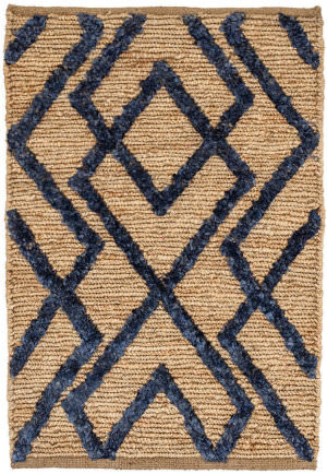 Dash And Albert Marco Woven Navy Area Rug