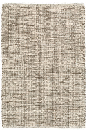 Dash And Albert Marled Cotton Brown Area Rug