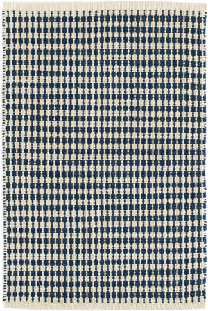 Dash And Albert Mcgregor Indoor-Outdoor Navy Area Rug