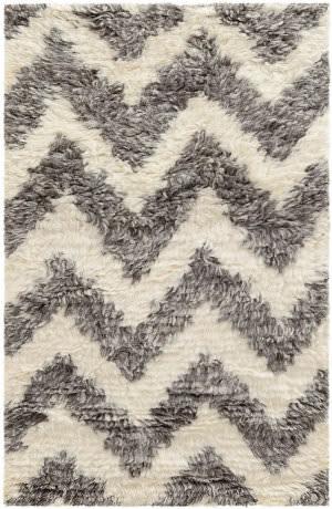 Dash And Albert Neutra Woven Grey Area Rug