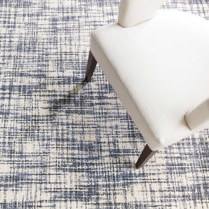 Dash And Albert Olio Hooked Blue Area Rug
