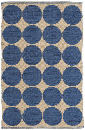 Dash And Albert Orbit Da114 Blue Area Rug