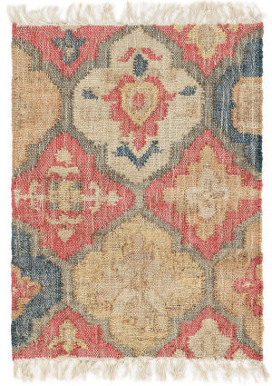 Dash And Albert Pali Woven Red Area Rug