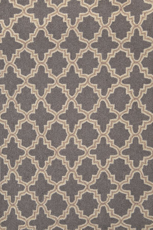 Dash and Albert Plain Tin 56238 Charcoal Area Rug