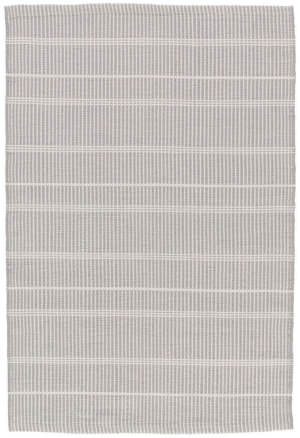 Dash And Albert Samson Indoor-Outdoor Grey Area Rug