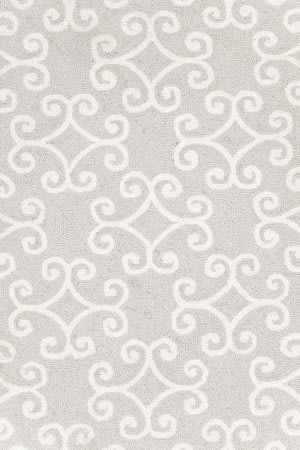 Dash and Albert Scroll 56254 Platinum Area Rug