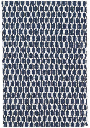 Dash And Albert Terra Woven Indigo Area Rug