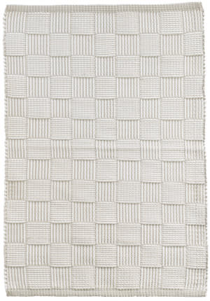 Dash And Albert Webber Indoor - Outdoor Platinum Area Rug