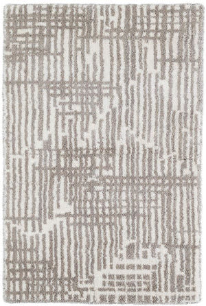 Dash And Albert Wright Knotted Grey Area Rug