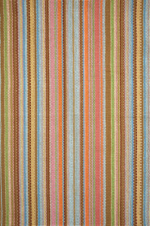 Dash And Albert Zanzibar Indoor - Outdoor Ticking Area Rug