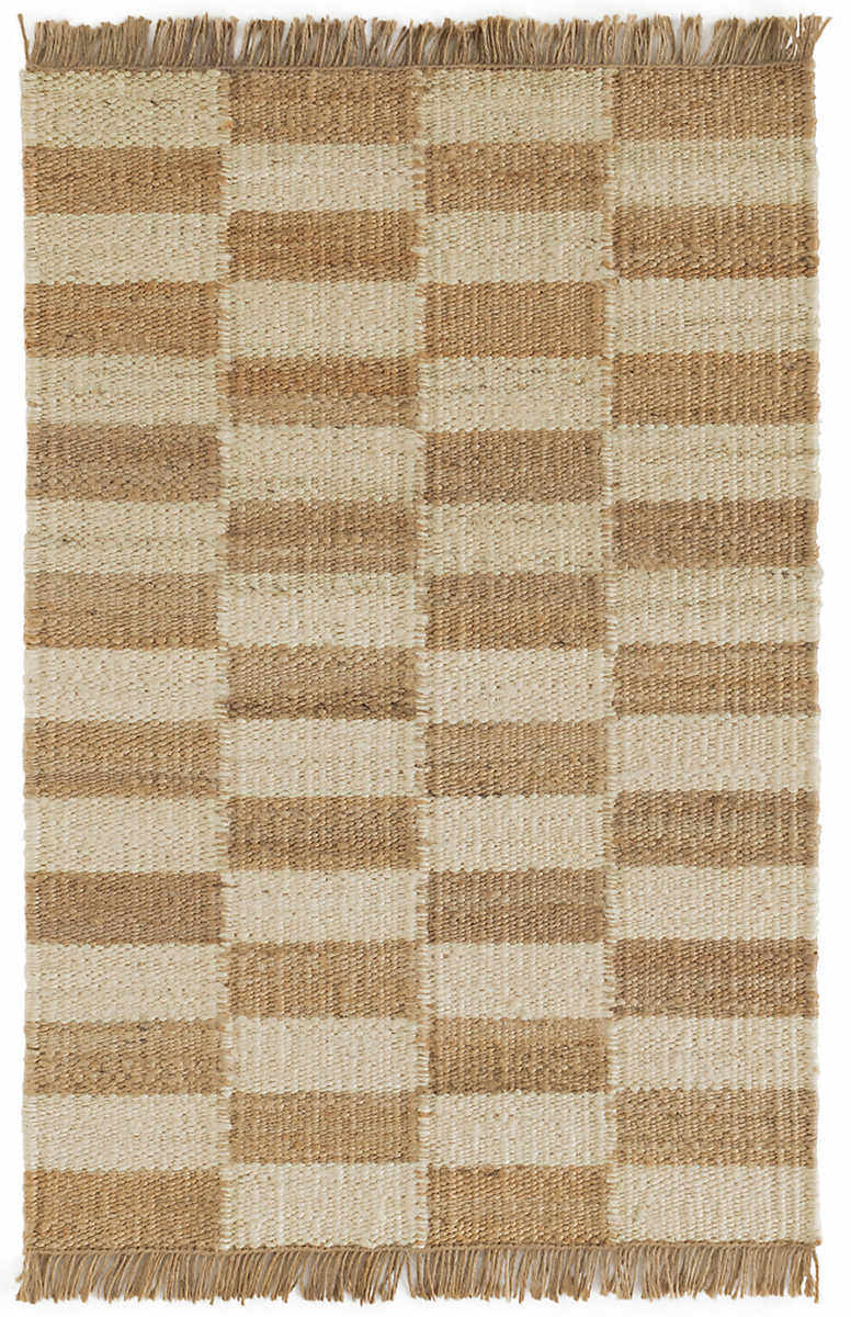 Dash And Albert Ilonga Woven Ivory Natural Rug Studio