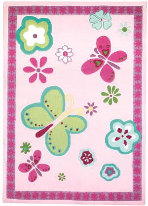 Designers Guild Elgin 176035 Flower Area Rug