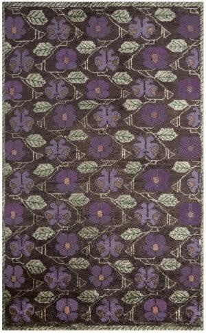 Designers Guild Tapestry Flower 176175 Amethyst Area Rug