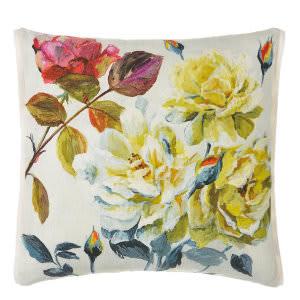 Designers Guild Couture Rose Pillow 176021 Fuchsia