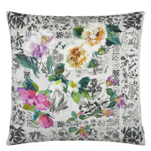 Designers Guild Majolica Pillow 176072 Slate