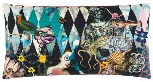 Designers Guild L'insolite Pillow 176066 Arlequin