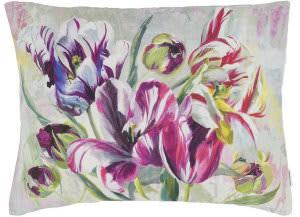 Designers Guild Tulipa Stellata Pillow 176179 Fuchsia