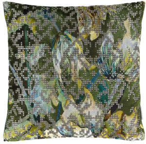 Designers Guild Bardiglio Pillow 175964 Emerald
