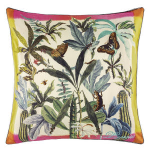 Designers Guild Frida's Garden Pillow 176043 Grenade