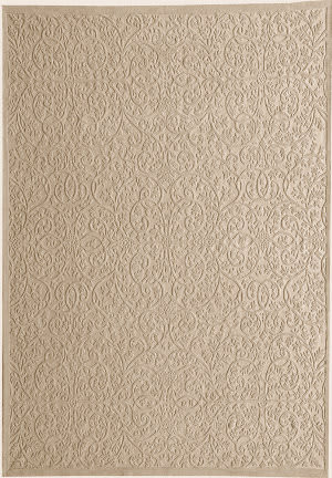 Due Process Aubusson + Cutpile Lattice Ivory Area Rug