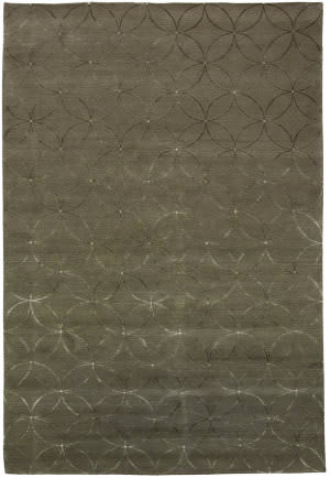 Due Process Adaptations Circle Fawn Area Rug