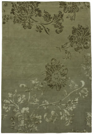 Due Process Adaptations Lotus Sage Area Rug
