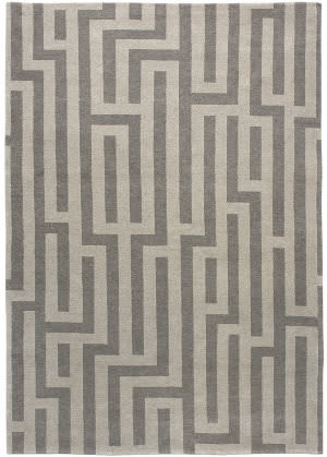 Due Process Adaptations Maze Fawn Area Rug