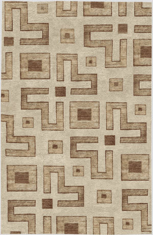 Due Process African Chamba  Area Rug